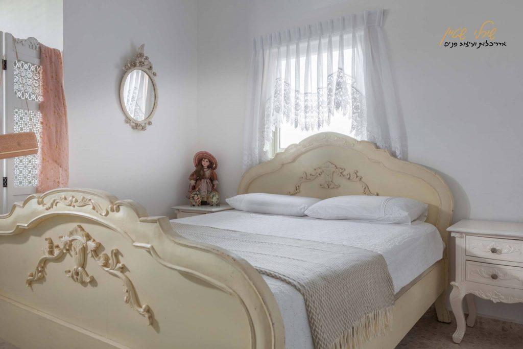עיצוב חדר שינה וינטג'
